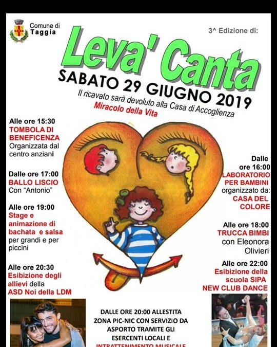 """3^ Edizione """"Levà canta"""""""