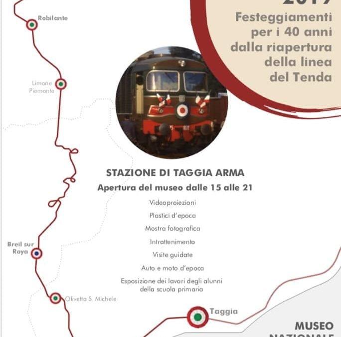40 anni della riapertura della linea del Tenda