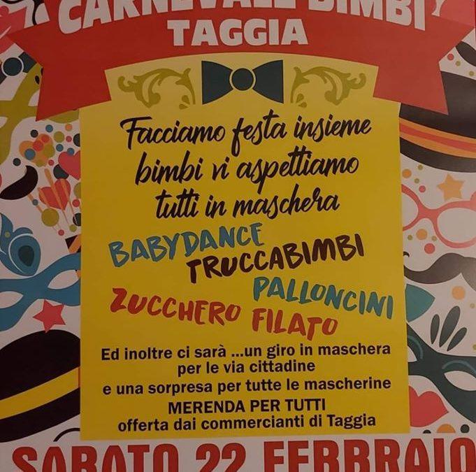 Carnevale bimbi Taggia